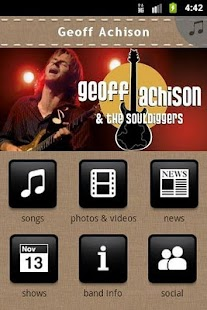 Geoff Achison - screenshot thumbnail