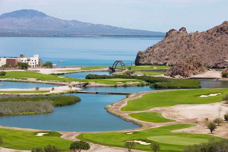 Los Cabos, Mexico, features some of the most stunning golf courses in the world.