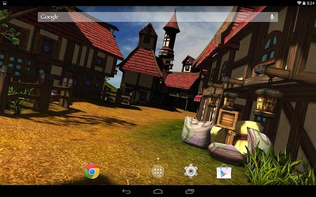 Cartoon Village 3D Free - screenshot
