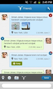 Vamoose Messenger - screenshot thumbnail