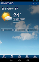 Screenshot of Climatempo