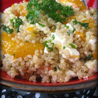 Sesame Mandarin Quinoa Salad.
