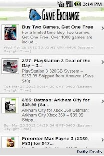 Daily Video Game Deals - screenshot thumbnail