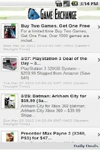 Daily Video Game Deals - screenshot thumbnail
