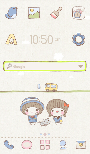 BeBe play dodol launcher theme