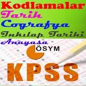 KPSS Kodlamalar Tarih Coğrafya
