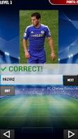 Screenshot of Football Quiz 2014