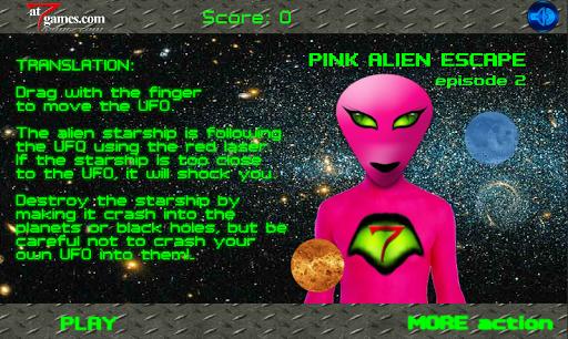 Pink Alien ESCAPE