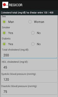 REGICOR CARDIOVASC RISK ESTIMA- screenshot thumbnail