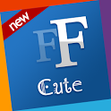 Cute free fonts 4 Samsung icon