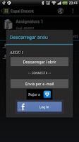 Screenshot of CV UAB Android - Sé Autónomo!