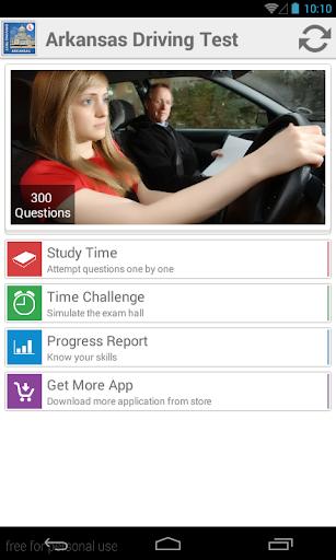 Arkansas Driving Test
