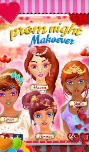 Prom Night Dress Up Makeover Games