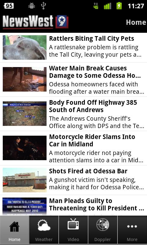 NewsWest 9 - screenshot