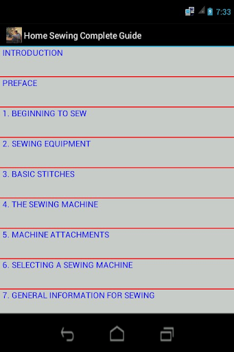 Home Sewing Complete Guide