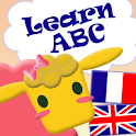 Learn ABC Bilingual alphabets logo