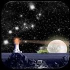 Magical Nightsky LWP Free icon