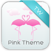 Keypad Pink Birds Theme