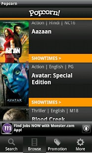 Popcorn: SG Movie Showtimes - screenshot thumbnail