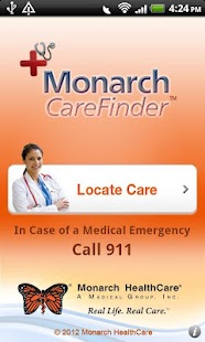 Monarch CareFinder Version 2.0 - screenshot thumbnail