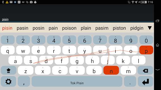 OKeyboard Plugin: Tok Pisin