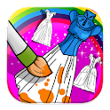 Dresses Princess Coloring icon