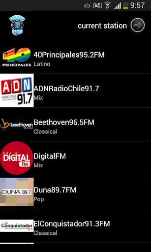 Las radios de chile: Top Radio