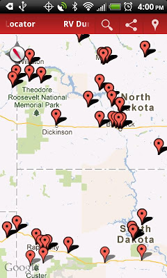 RV Dump Stations Locator - screenshot