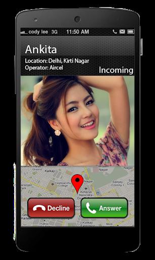 Track Caller's Location info