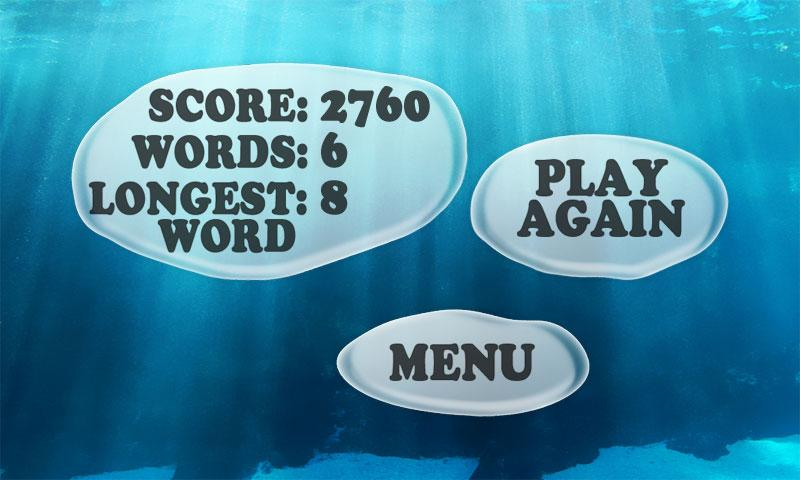 Bubble Words- screenshot