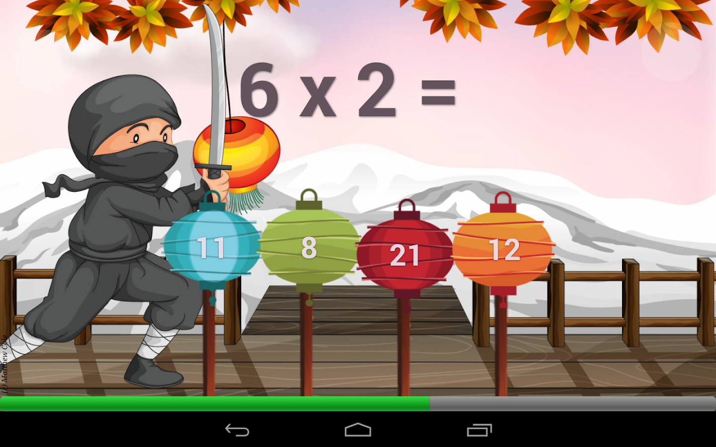Times Tables Game- screenshot