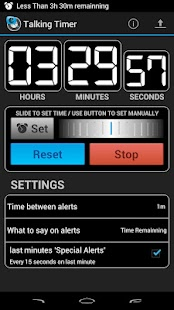 Talking Timer - screenshot thumbnail