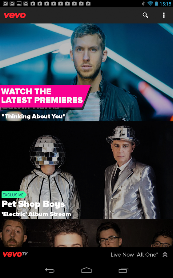 Vevo - Watch HD Music Videos - screenshot