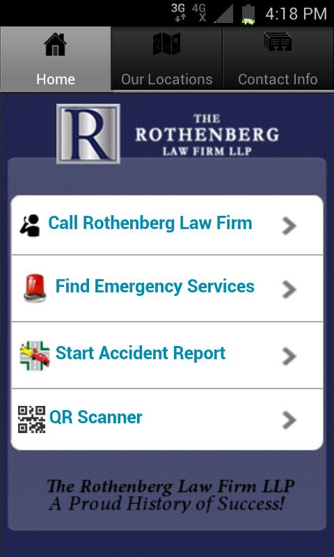 Injury Lawyer- screenshot
