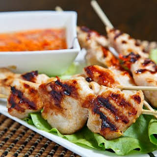 Grilled Lemongrass Chicken.