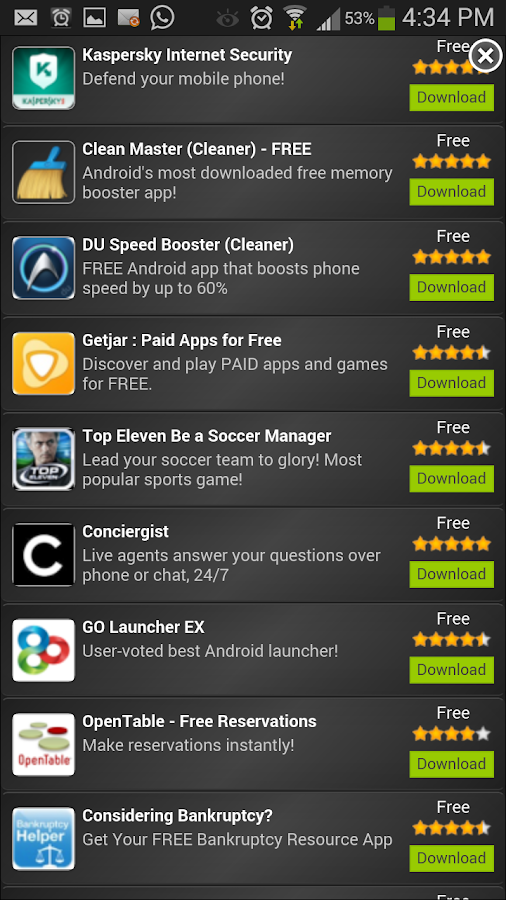 FREE APPS FOR LIFE - screenshot