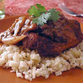 Moroccan Chicken with Almond Couscous