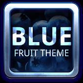 Blue Fruit Theme GO Launcher