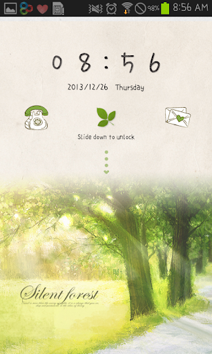 Forest go locker theme