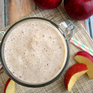 Caramel Apple Pie Milkshake.