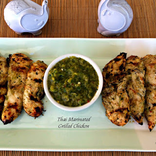 Thai Marinated Grilled Chicken