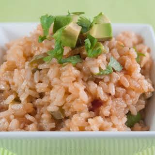Southwestern Avocado Rice.