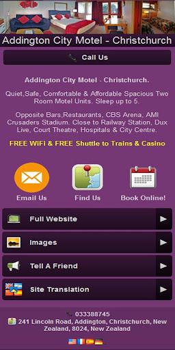 玩商業App|Addington City Motel App免費|APP試玩
