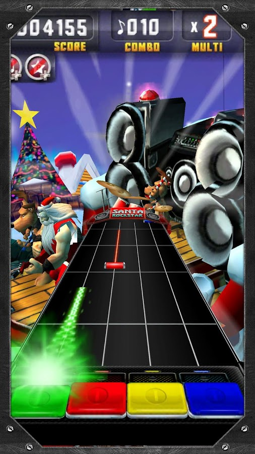 Santa Rockstar - screenshot