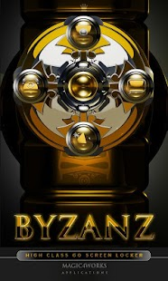byzanz GO Locker theme - screenshot thumbnail