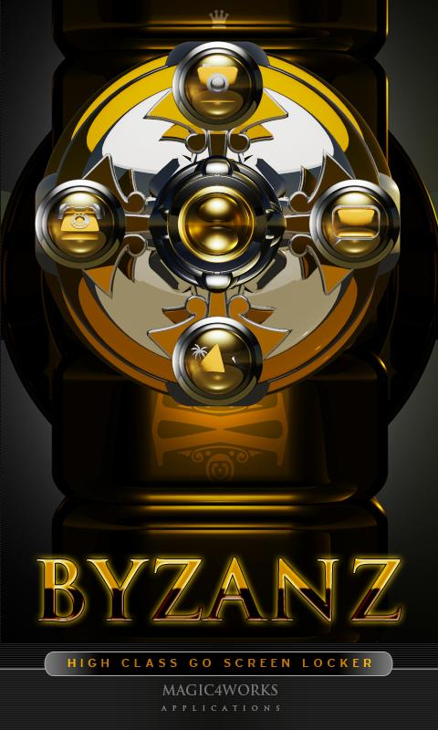 3D byzanz GO Locker theme - screenshot