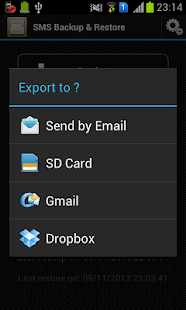 SMS Backup & Restore - screenshot thumbnail