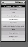 Screenshot of Preguntas de Traumatologia