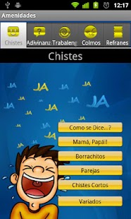 Amenidades y Chistes - screenshot thumbnail