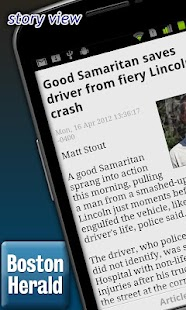 Boston Herald - screenshot thumbnail
